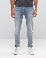 Lee Malone Super Skinny Jeans Fading Blue