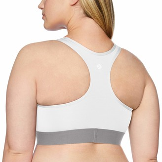 Core 10 Amazon Brand Women's Medium Support Compression Sports Bra- No removable cups
