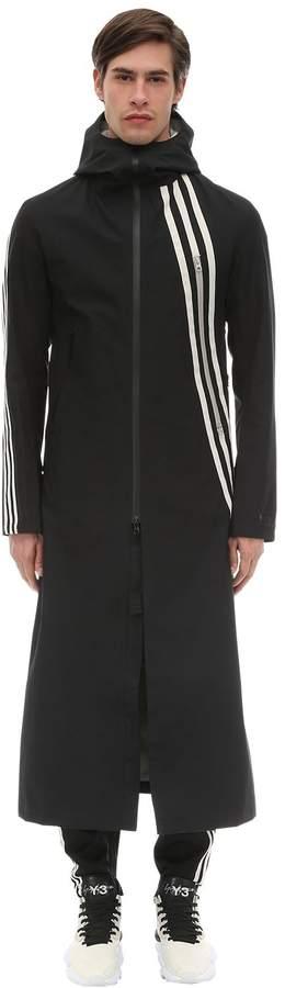 Y-3 Y 3 3-Stripes Nylon Gore-Tex Infinium Jacket