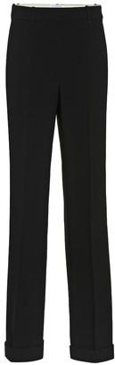 Altuzarra Gavi crApe high-waisted pants
