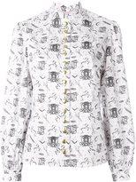 Olympia Le-Tan printed shirt