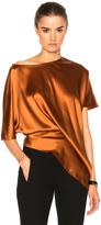Ann Demeulemeester Short Sleeve Baggy Top