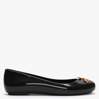 Vivienne Westwood x Melissa Space Love 22 Black Cut Out Orb Pumps