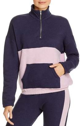 Wildfox Couture Lea Half-Zip Sweatshirt