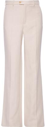 Joseph Kosta Ramie And Cotton-blend Twill Bootcut Pants