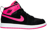 Nike Girls' Preschool Air Jordan Retro 1 High Basketball Shoes