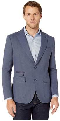 Robert Graham Downhill IV Blazer (Navy) Men's Clothing