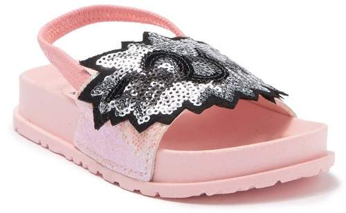 7ad4d57a27acb Boom Sequin Patch Slingback Sandal (Toddler)