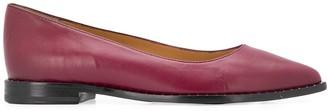 J&M Davidson Stud-Embellished Ballerina Shoes