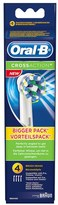 Oral B Oral-B Cross Action Toothbrush Head Refills (x4)