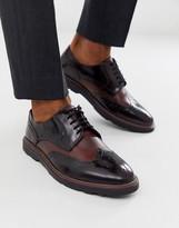 Silver Street soho brogue shoe