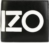 Kenzo Icons Logo Print Nylon Fold Wallet