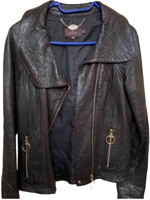 Mulberry Black Leather Leather jackets