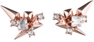 Alexis Bittar Golden Studded Post Earring