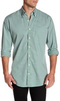 Peter Millar Crown Finish Gingham Regular Fit Shirt