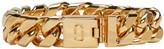 Marc Jacobs - Bracelet doré Double J