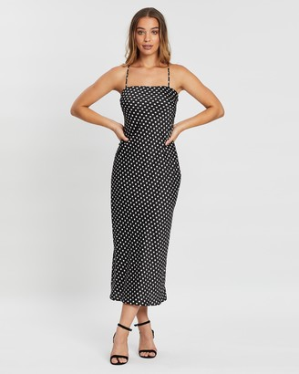 Atmos & Here Lisa Spot Slip Dress