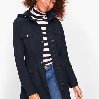 Talbots Drawcord Raincoat