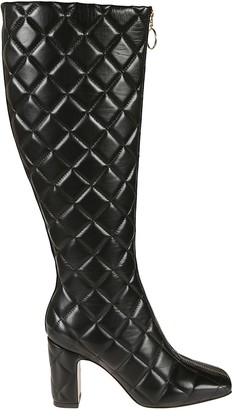 L'Autre Chose Quilted Long Boots