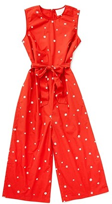 ban.do Daisies Easy Jumpsuit (Red) Women's Jumpsuit & Rompers One Piece