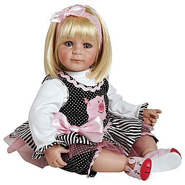 "JCPenney Adora® ""Oink"" 20"" Baby Doll"