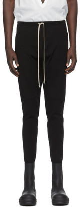 Rick Owens Black Performa Track Pants