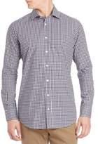 Luciano Barbera Mini Check Shirt