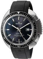 Edox Men's 53200 3NGCA GIN Hydro Sub Analog Display Swiss Quartz Black Watch