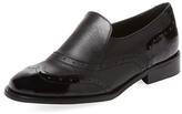 Wingtip Slip-On Loafer