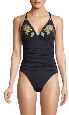 9ea1863cdc Bleu Rod Beattie Black One Piece Swimsuits - ShopStyle