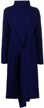 Christian Wijnants Oversize Front Tie Knit Dress