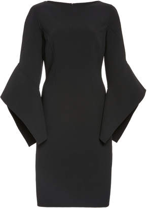 Michael Kors Stretch-Wool Crepe Dress