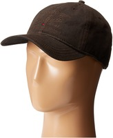 Woolrich Oil Cloth Ball Cap with Embroidery