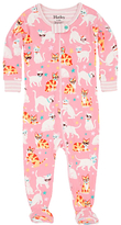 Hatley Baby Cool Cats Sleepsuit, Pink
