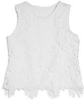 Aqua Girls' Lace Top - Sizes S-XL