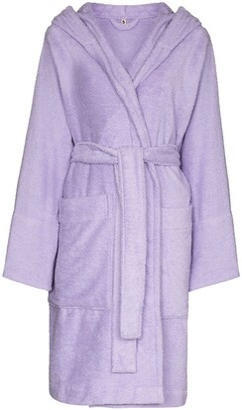 Tekla Hooded Organic Cotton Robe