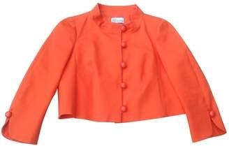 RED Valentino Orange Cotton Jacket for Women
