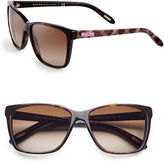 Ralph Lauren Ralph By Eyewear 57mm Rectangle Sunglasses