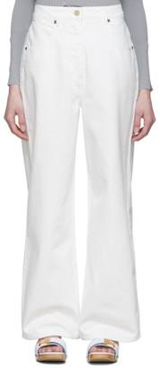Jacquemus White Le Jean De Nimes Jeans