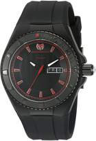 Technomarine Men's TM-115167 Cruise Night Vision Analog Display Swiss Quartz Black Watch