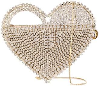 Rosantica Regina heart cage bag