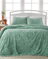 Victoria Classics Allison Sage Tufted 3-Pc. Queen Bedspread Set