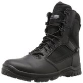 "Danner Men's Lookout Side-Zip 8""Black Military and Tactical Boot"