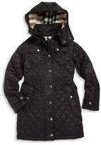 Burberry Little Girl's & Girl's Foxmoore Quilted Coat