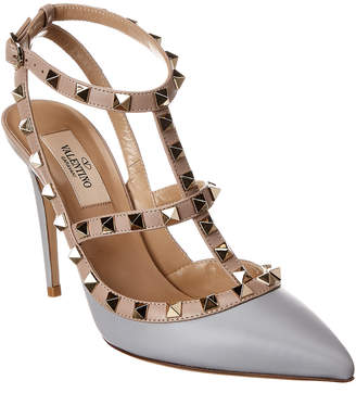 Valentino Rockstud Caged 65 Leather Pump