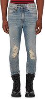 R 13 Men's Drop Distressed Skinny Jeans