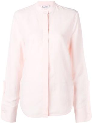 Jil Sander Band Collar Shirt