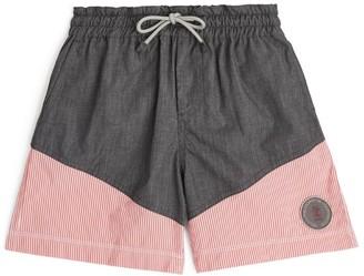 BRUNELLO CUCINELLI KIDS Striped Swim Shorts (8-11 Years)