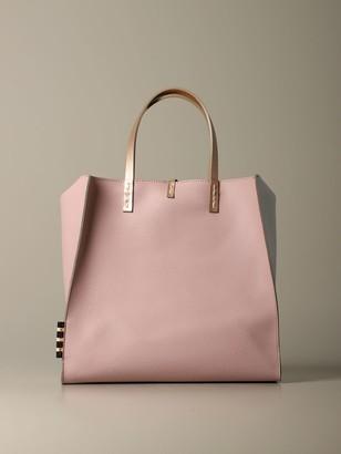 Manila Grace Leather Bag With Shoulder Strap