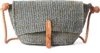 Ralph Lauren Abaca Straw Crossbody Bag